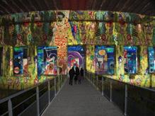 [그림 1] '라 바즈 수-마린느' 내부의 실제 문화활동 모습